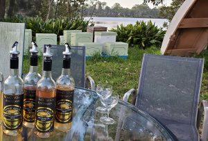 Mead tasting amongst beehives