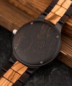 BOBO BIRD Wood Men Watches Viking Valknut Watch relogio masculino Come Bamboo Box Customize Dropshipping 4