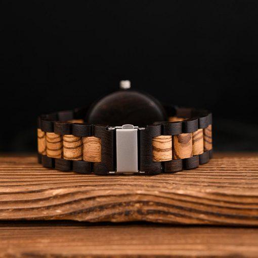 BOBO BIRD Wood Men Watches Viking Valknut Watch relogio masculino Come Bamboo Box Customize Dropshipping 5