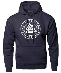 Hoodies Men Odin Vikings Sweatshirts Lothbrok Lagertha Athelstan Hooded Sweatshirt VikingWinter Autumn Valhalla Sportswear 2