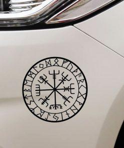 15cm 15cm Originality Compass Rune Vinyl Car styling Decal Motorcycle Car Sticker S6 3521 2