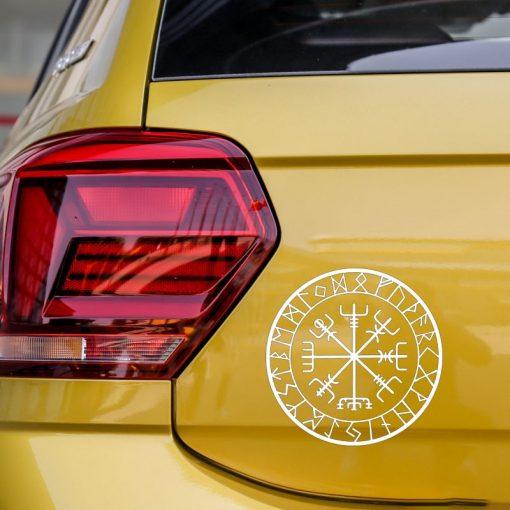 15cm 15cm Originality Compass Rune Vinyl Car styling Decal Motorcycle Car Sticker S6 3521 3