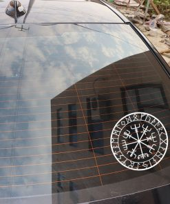 15cm 15cm Originality Compass Rune Vinyl Car styling Decal Motorcycle Car Sticker S6 3521 4