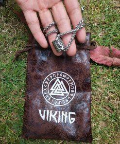 Norse Vikings Thor s Hammer Mjolnir Scandinavian Rune Amulet Necklace Stainless Steel Chain Vegvisir Anchor Pendant 5